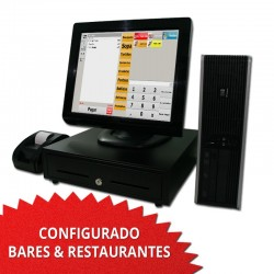 "TPV TÁCTIL 17"" para Restaurantes y Bares - 58mm"