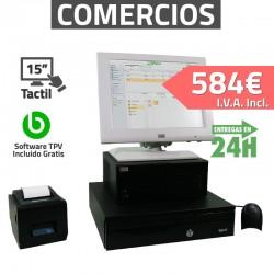 TPV Táctil 15'' Wincor Nixdorf - Restaurantes y Bares - 80mm