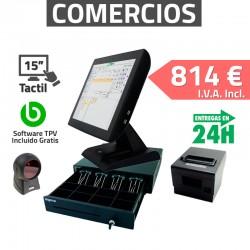 TPV Táctil KT-800 15'' Tiendas y Comercios 80mm