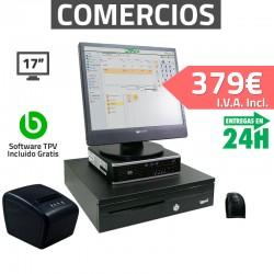 """TPV 17"""" Tiendas y Comercios - 80mm - Lector Usb - 4Gb"""