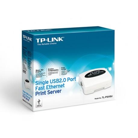Servidor de impresión TP-LINK TL-PS110U USB2.0 a Ethernet
