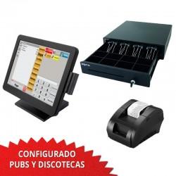 TPV Táctil 1037U 15'' Pubs y discoteca - 58mm