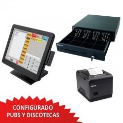 TPV Táctil 1037U 15'' Pubs y Discotecas - 80mm