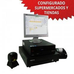 """TPV 15"""" Supermercados y Tiendas - 58mm - Lector Omnidireccional"""